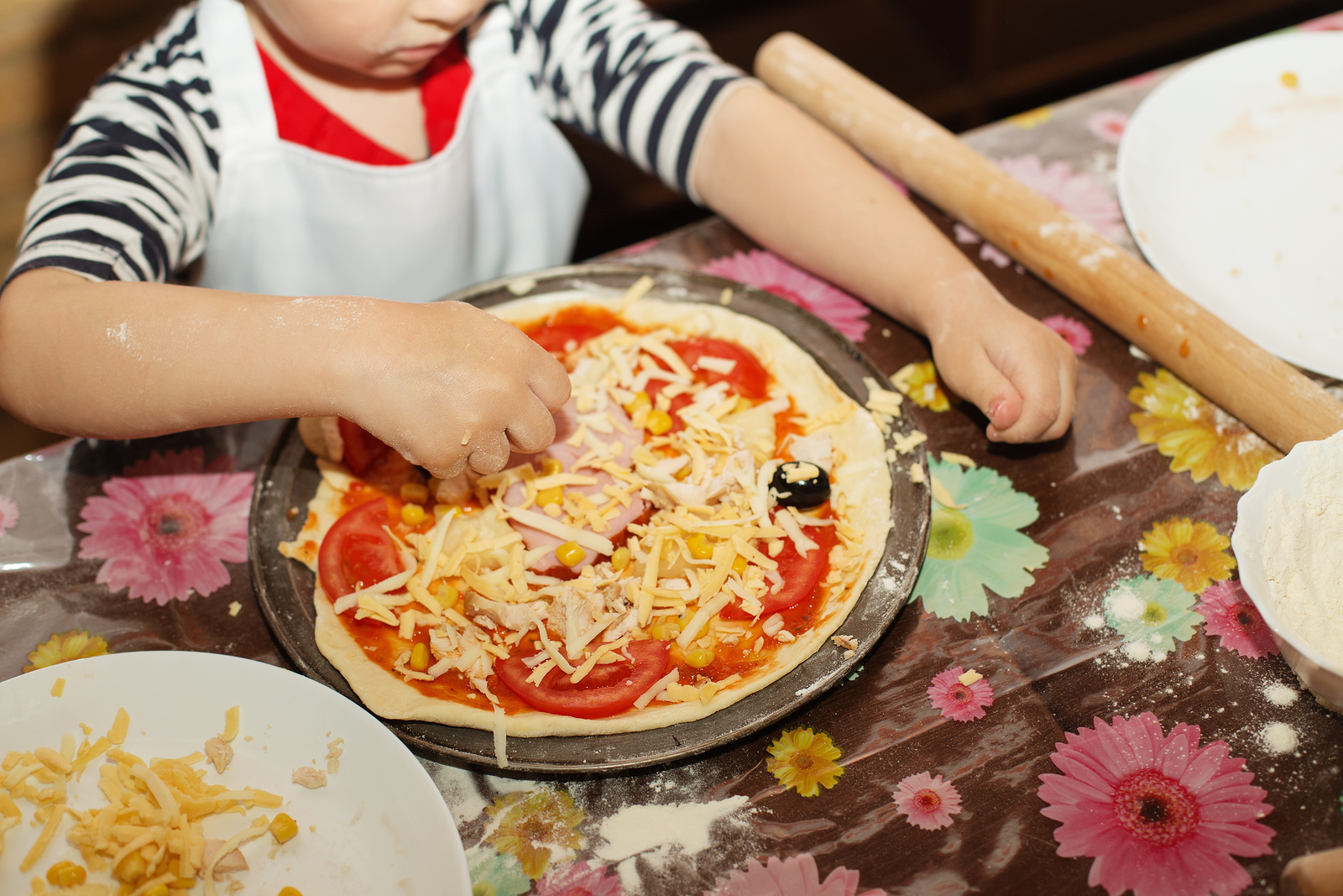 For kids learning to cook, safety is the first lesson!