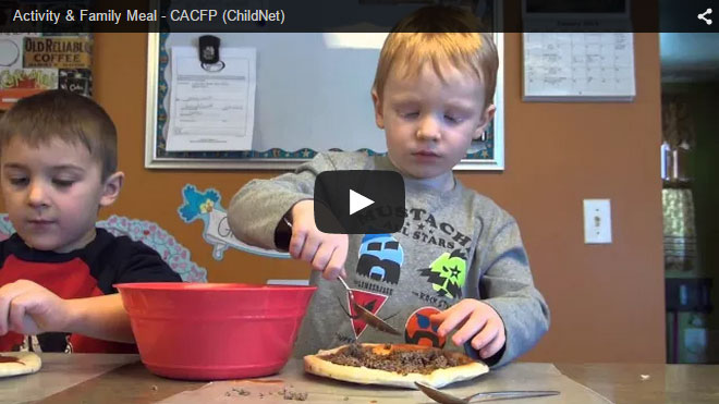 Activity & Family Meal - CACFP