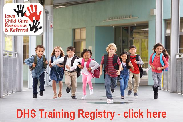 DHS Training Registry - Click Here
